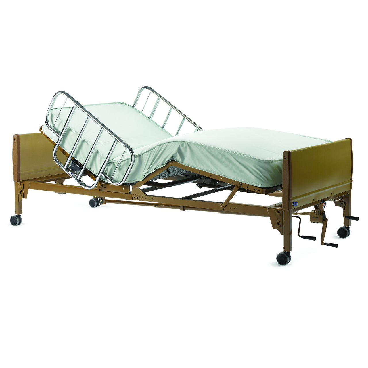 Invacare 5307IVC Manual Hospital Bed Features Universal