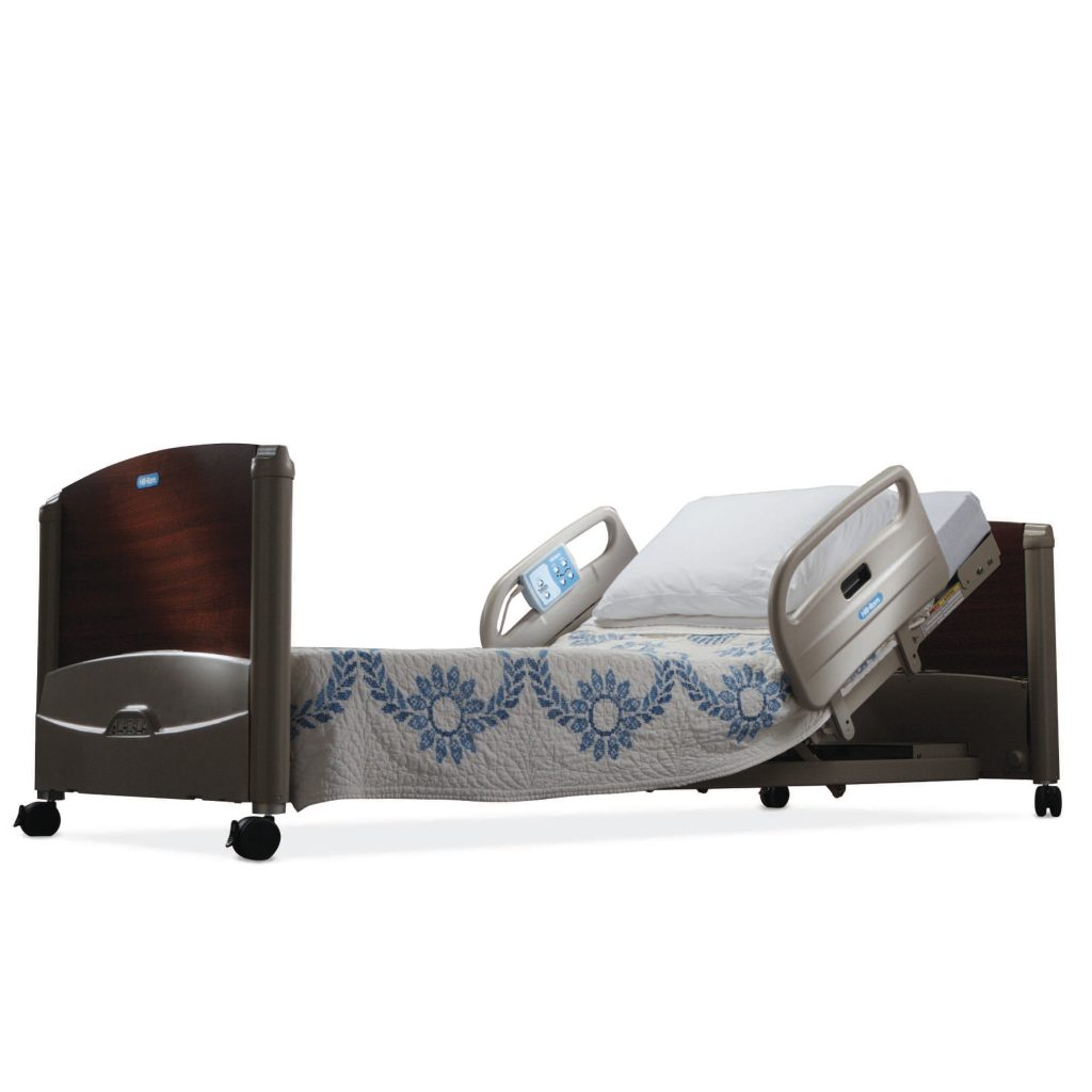 hill rom 100 low bed package is stylish safe simple to use