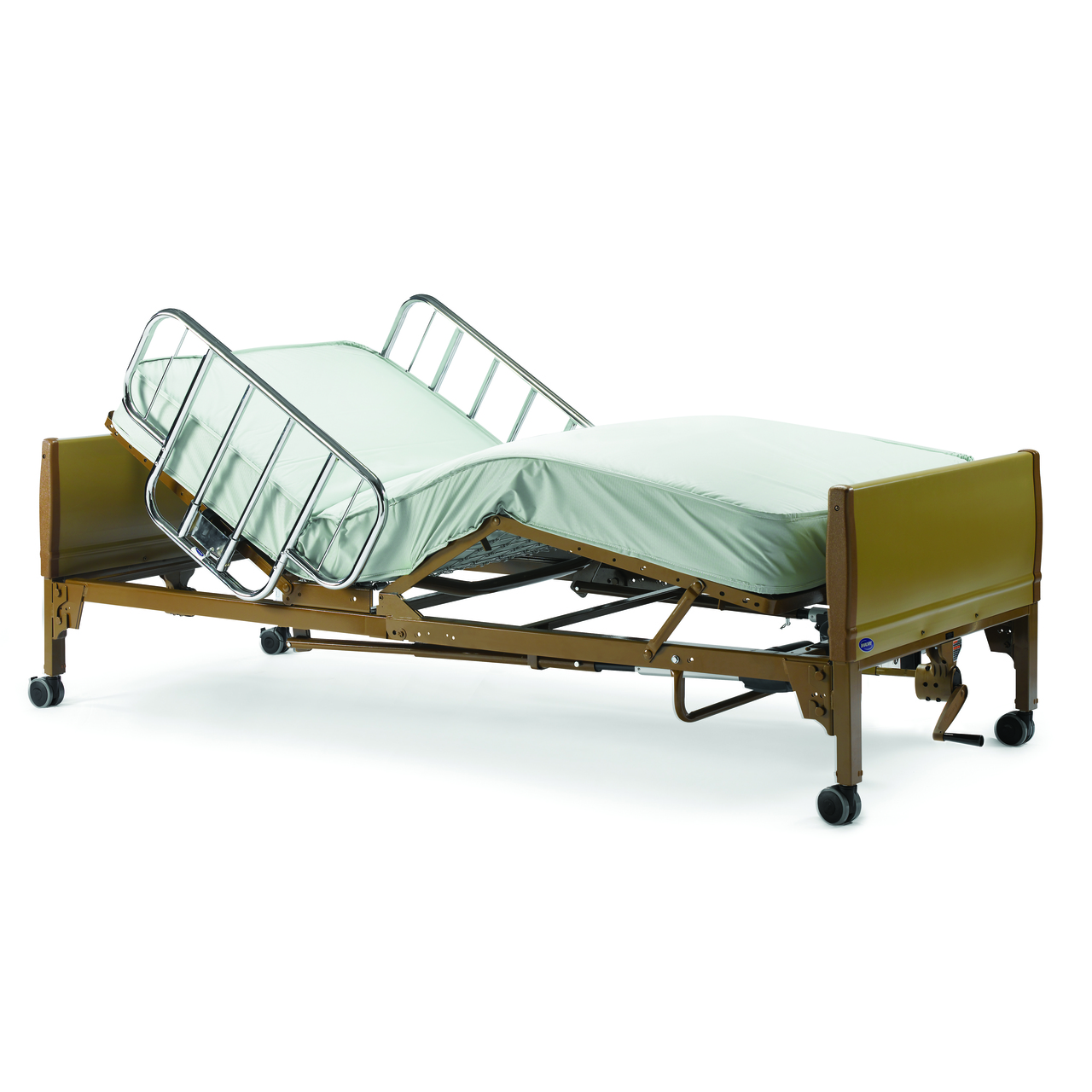 Invacare Semi Electric Hospital Bed Provides Comfort