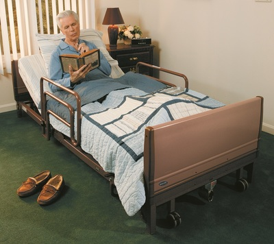 Invacare Hi Low Hospital Bed With Reinforced Steel