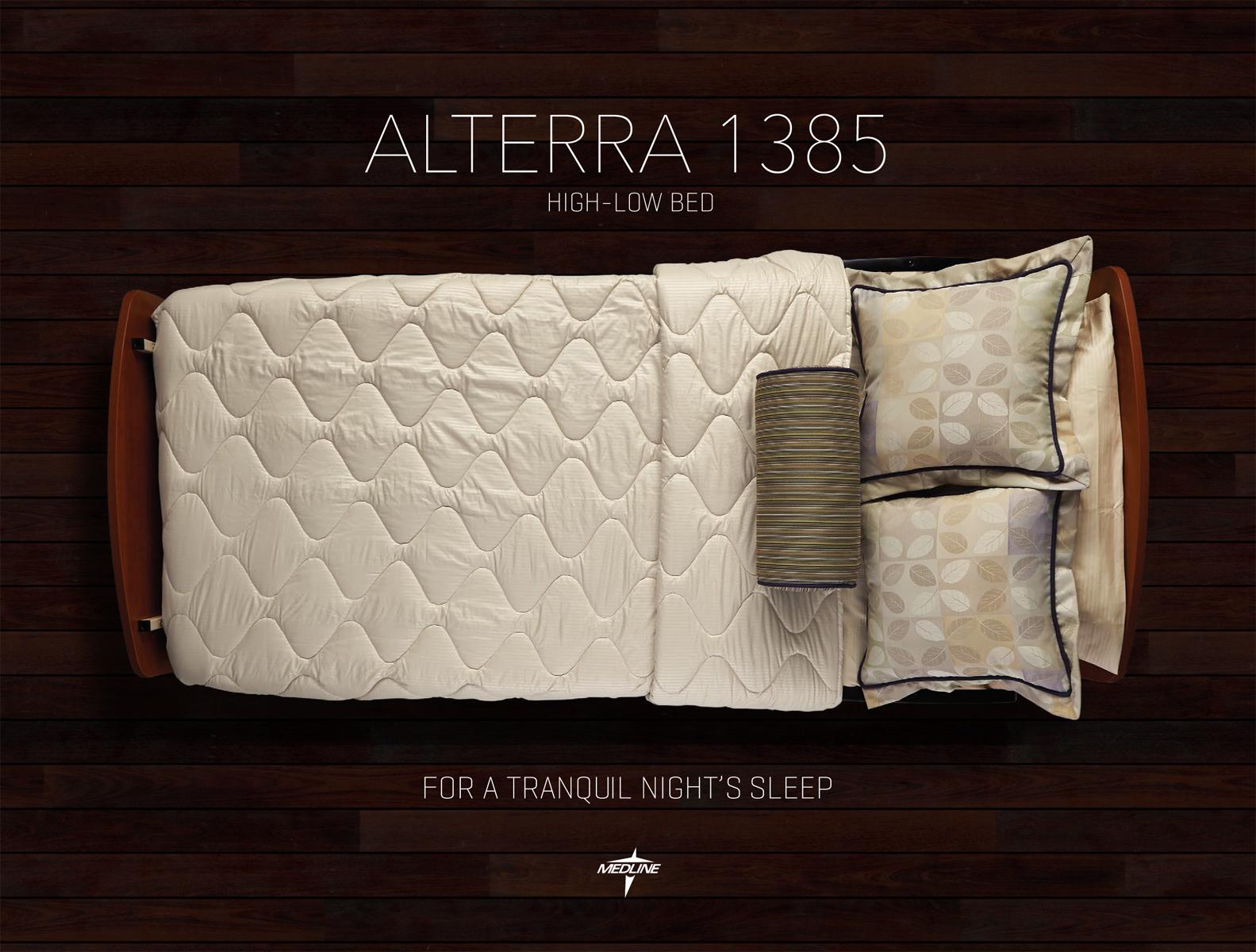 medline alterra 1385 frame is more durable & stable